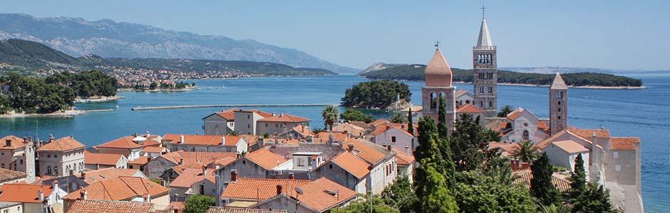 Riwiera Rab Chorwacja