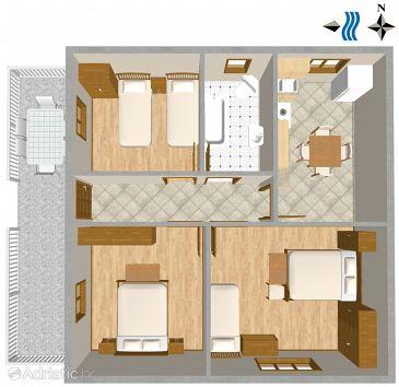 Apartmán A-2229-a - Ubytování Banjole (Pula) - 2229