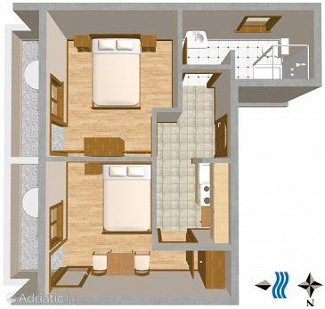 Апартаменты A-2507-a - Апартаменты Mali Lošinj (Lošinj) - 2507