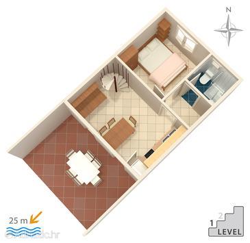 Haus K-462 - Ferienhaus Jadrija (Šibenik) - 462
