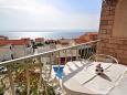 Balkon 1 - pohled - Apartmán A-4632-b - Ubytování Duće (Omiš) - 4632
