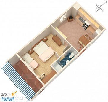 Apartmán A-4632-c - Ubytování Duće (Omiš) - 4632