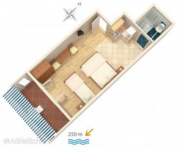 Studio AS-4632-a - Ubytování Duće (Omiš) - 4632