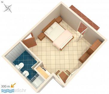 Studio flat AS-5344-a - Apartments Punat (Krk) - 5344