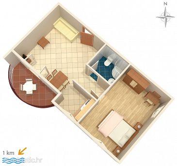 Ferienwohnung A-7431-a - Ferienwohnungen Pula (Pula) - 7431