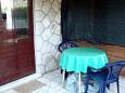 Terrasse - Ferienwohnung A-7531-a - Ferienwohnungen Sobra (Mljet) - 7531