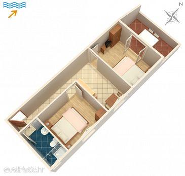 Apartmán A-994-a - Ubytování Zaklopatica (Lastovo) - 994