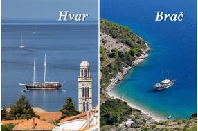 Insulele croate | Brač sau Hvar