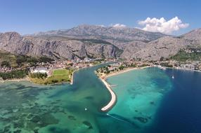 The most beautiful beaches of the Omiš riviera