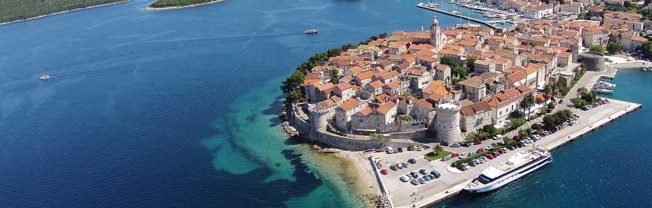 Riviéra Korčula Horvátország