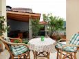 Terrace - Apartment A-10008-b - Apartments Vinišće (Trogir) - 10008