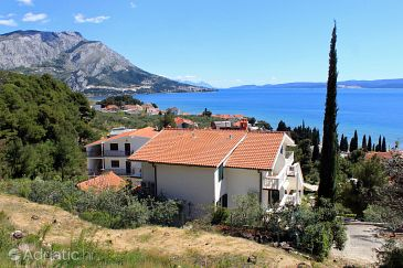 Property Duće (Omiš) - Accommodation 10013 - Apartments with sandy beach.