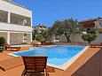 Courtyard Zadar (Zadar) - Accommodation 10016 - Vacation Rentals with pebble beach.