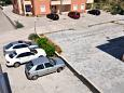 Parking lot Vodice (Vodice) - Accommodation 10022 - Apartments with pebble beach.