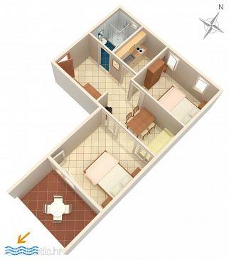 Apartment A-10027-c - Apartments Baška Voda (Makarska) - 10027