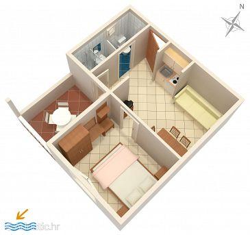 Apartment A-10027-d - Apartments Baška Voda (Makarska) - 10027