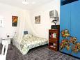 Korčula, Bedroom u smještaju tipa studio-apartment, dopusteni kucni ljubimci.