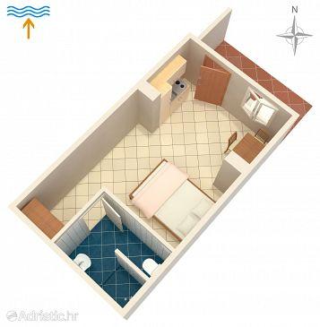 Studio flat AS-10126-a - Apartments Drače (Pelješac) - 10126
