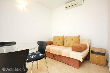 Viganj, Living room u smještaju tipa apartment, dostupna klima.