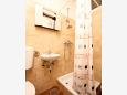 Bathroom - Studio flat AS-10188-b - Apartments Viganj (Pelješac) - 10188