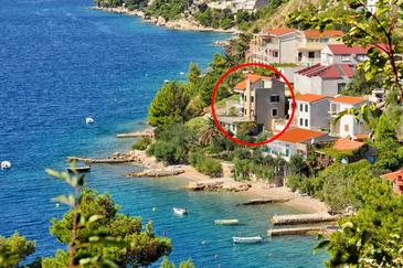 Property Zavode (Omiš) - Accommodation 1022 - Apartments near sea with pebble beach.