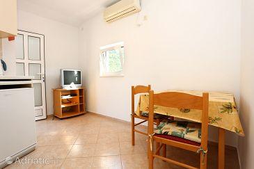Žuljana, Dining room u smještaju tipa apartment, dostupna klima i WIFI.