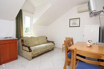 Hodilje, Living room u smještaju tipa apartment, dostupna klima i WIFI.