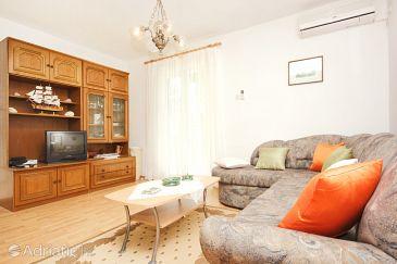 Viganj, Living room u smještaju tipa house, dostupna klima, dopusteni kucni ljubimci i WIFI.