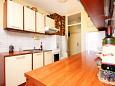 Trogir, Kitchen u smještaju tipa apartment, WIFI.