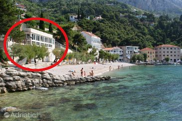 Mimice, Omiš, Property 1030 - Apartments blizu mora with pebble beach.