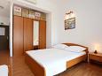 Stanići, Bedroom u smještaju tipa studio-apartment, dostupna klima i WIFI.