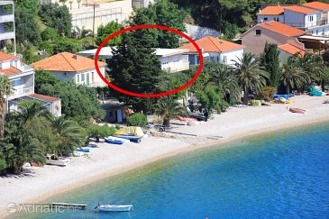 Property Stanići (Omiš) - Accommodation 1031 - Apartments near sea with pebble beach.