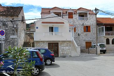Property Marina (Trogir) - Accommodation 10327 - Apartments near sea with pebble beach.