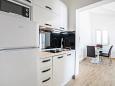 Rogoznica, Kitchen u smještaju tipa apartment, WIFI.