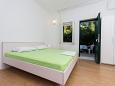 Bedroom - Studio flat AS-10340-a - Apartments Arbanija (Čiovo) - 10340