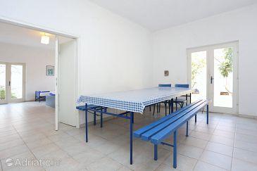 Podstrana, Dining room u smještaju tipa apartment, dopusteni kucni ljubimci i WIFI.