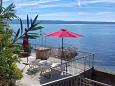 Courtyard Podstrana (Split) - Accommodation 10356 - Apartments near sea with pebble beach.