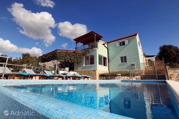 Property Kanica (Rogoznica) - Accommodation 10367 - Vacation Rentals with pebble beach.