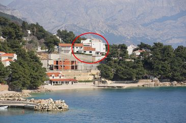Property Medići (Omiš) - Accommodation 1046 - Apartments near sea with pebble beach.