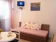 Bedroom - Studio flat AS-1047-b - Apartments Medići (Omiš) - 1047