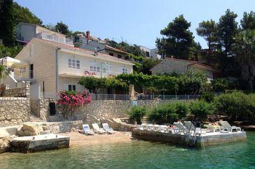 Apartmány přímo u moře Omiš