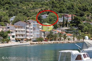 Property Živogošće - Porat (Makarska) - Accommodation 1055 - Apartments with pebble beach.