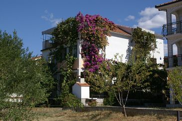 Obiekt Okrug Gornji (Čiovo) - Zakwaterowanie 1069 - Apartamenty blisko morza ze żwirową plażą.