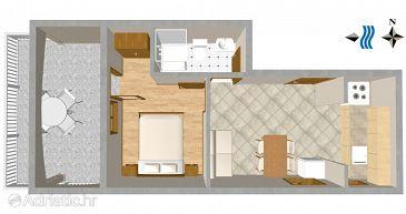 Apartment A-1079-c - Apartments Okrug Gornji (Čiovo) - 1079