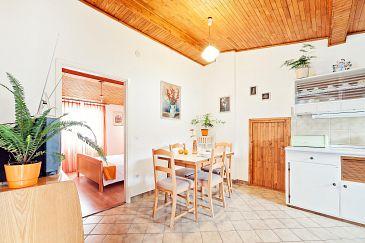 Rogoznica, Dining room u smještaju tipa apartment, dopusteni kucni ljubimci i WIFI.