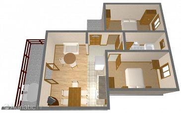Apartment A-1092-a - Apartments Rogoznica (Rogoznica) - 1092