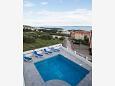 Balcony 1 - view - House K-11002 - Vacation Rentals Makarska (Makarska) - 11002