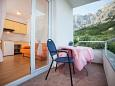 Balcony 3 - House K-11002 - Vacation Rentals Makarska (Makarska) - 11002