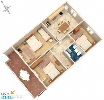 Apartment A-1101-a - Apartments Kanica (Rogoznica) - 1101