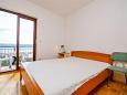 Bedroom - Apartment A-11045-a - Apartments Mimice (Omiš) - 11045